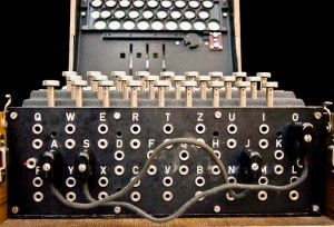 WWII Enigma Machine